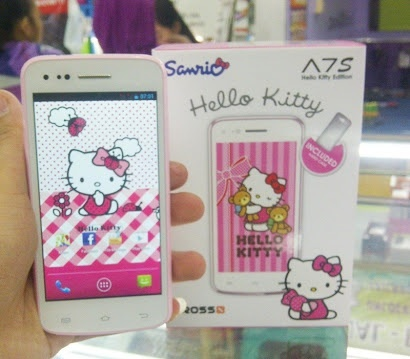 HP Hello Kitty Cross A7S pink - Second