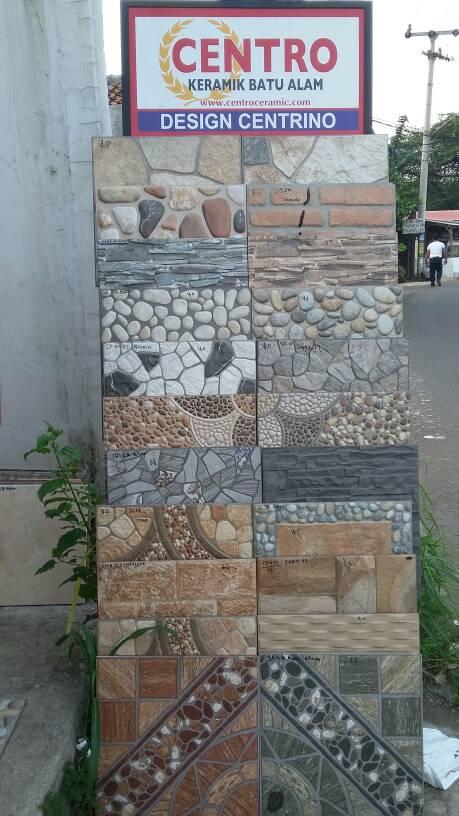Jual keramik lantai 40x40 motif batu alam - Tk kota ...