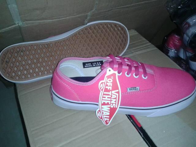 Sepatu Vans Cewek Pink Sepatu Vans Cewek
