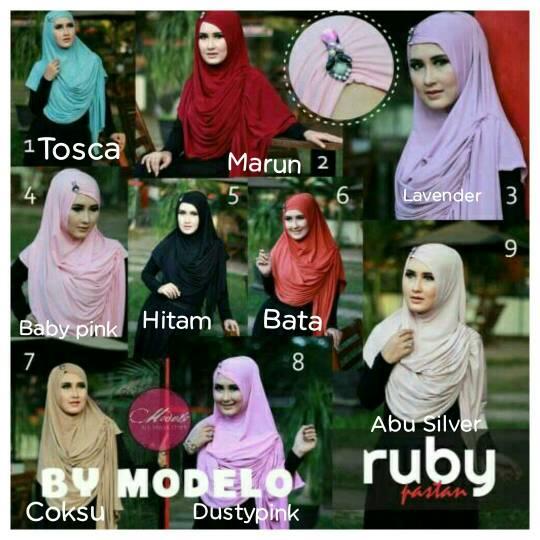 Hijab Instant Bergo Ruby