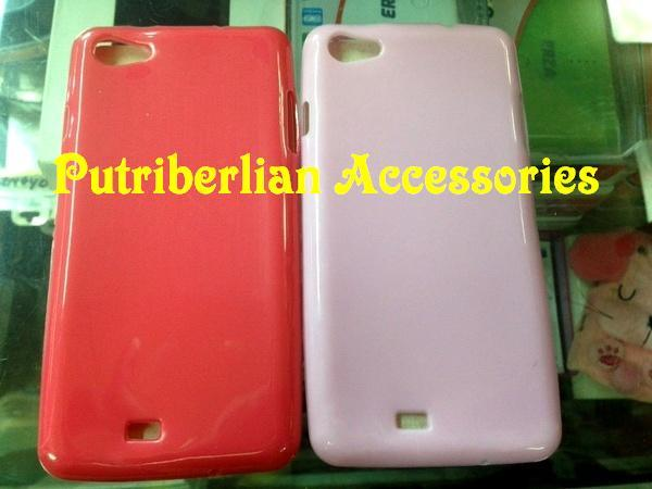 harga Smartfren Andromax U3 Soft Case Silicon Glossy Cover (Soft Jacket U3) Tokopedia.com