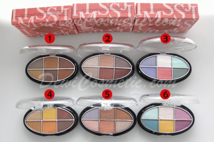 harga Just Miss Eyeshadow - Blusher ES-215 (2 susun) Tokopedia.com