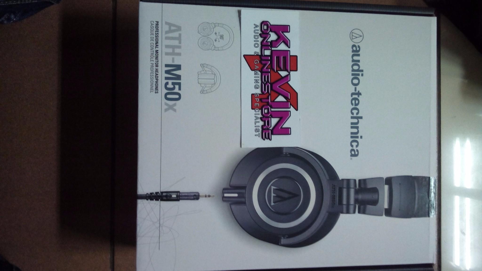 Harga Audio Technica Ath-m50x Audio Technica Ath-m50x