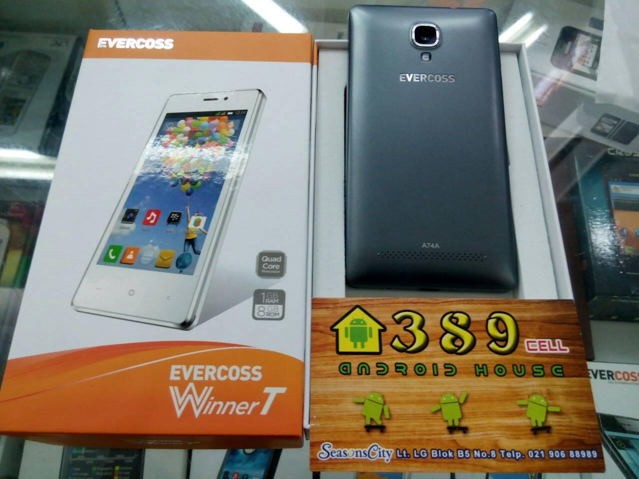 Evercoss A74a Winner T 8gb Putih Daftar Harga Terlengkap Indonesia Source Jual