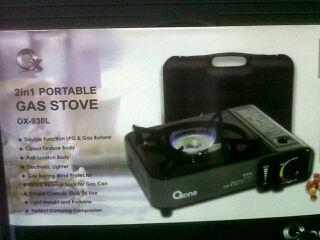 harga OX-930L   Kompor Gas Portable Oxone 2in1 Tokopedia.com