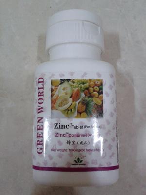 Jual Green World Zinc Tablet Untuk Dewasa Beauty Kosmetik Murah