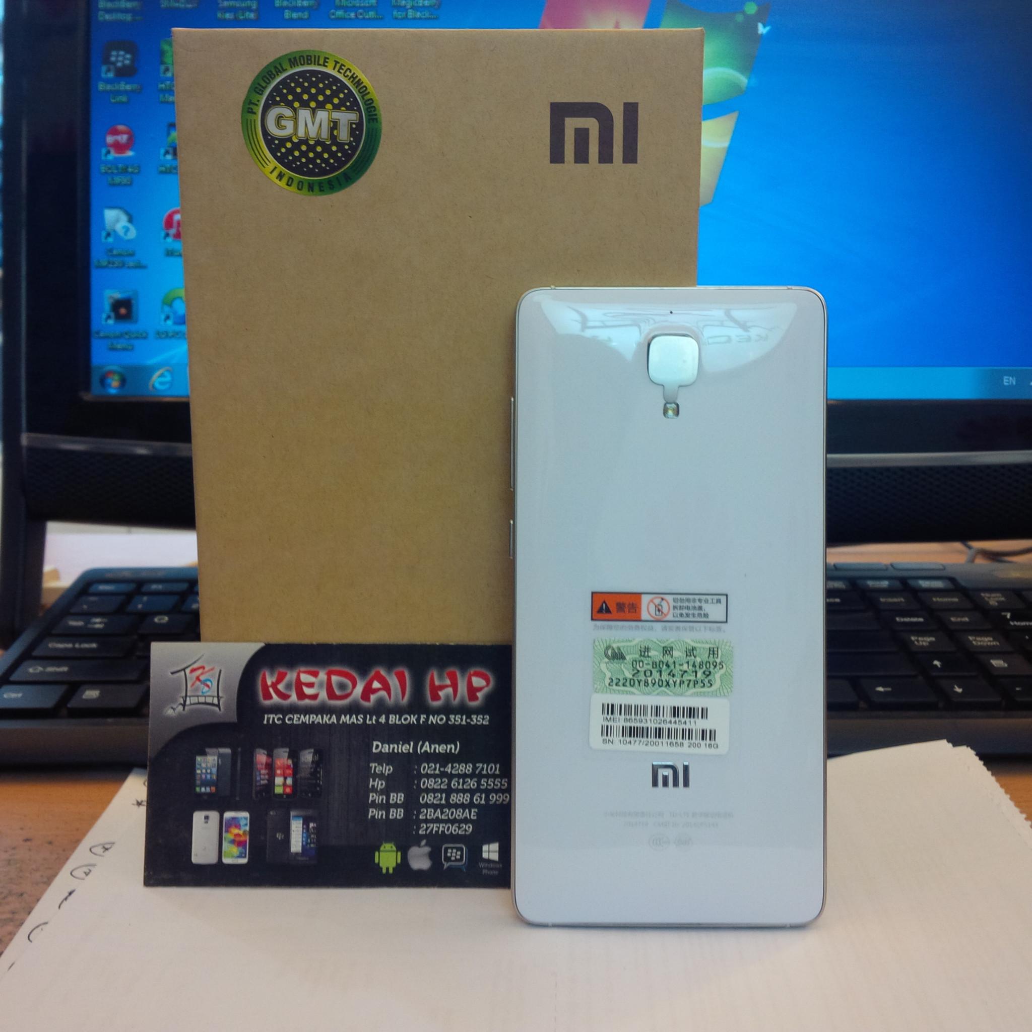 Xiaomi Mi4 Ram 2gb By Jual 4g Lte Garansi Distributor 1 Tahun