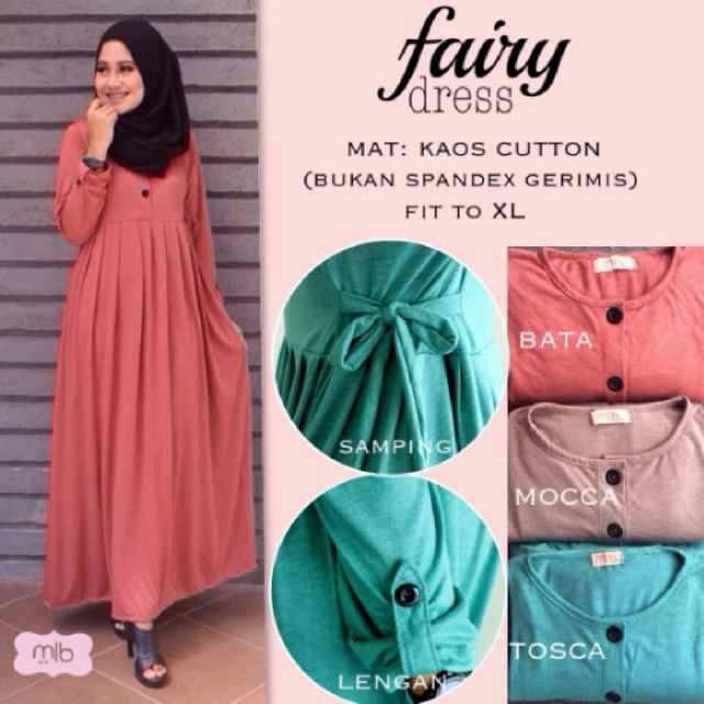 supplier dress hijab : fairy dress