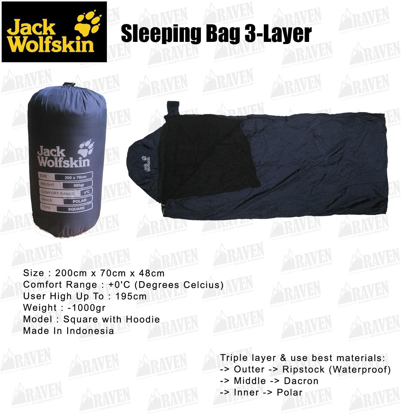 sleeping bag jack wolfskin indonesia