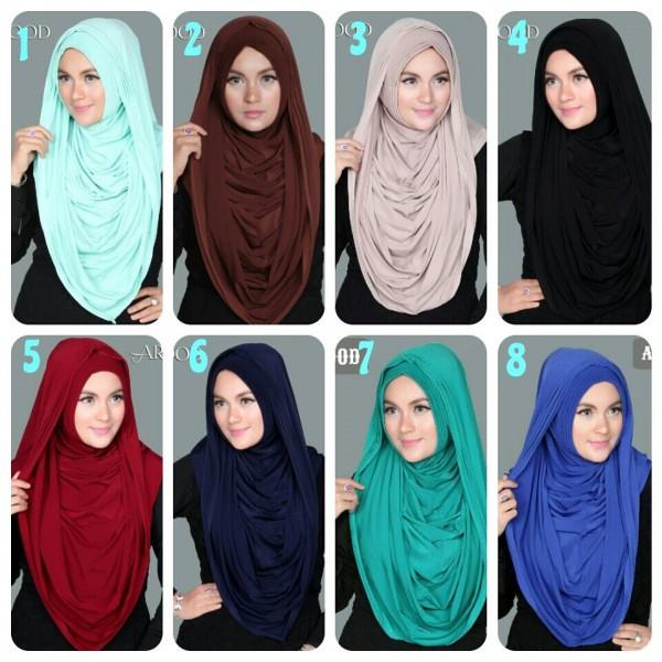 Hijab Arabian Hoodie Jumbo