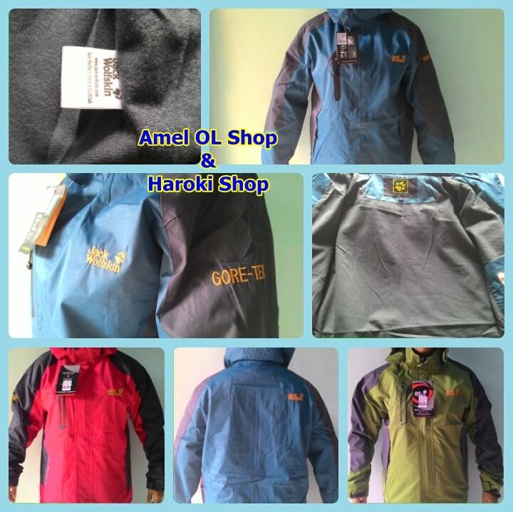 Snta Jaket Outdoor Wanita Camping&hiking Jacket 6602 Biru Daftar Source · Jaket Jack WolfSkin JWS Single