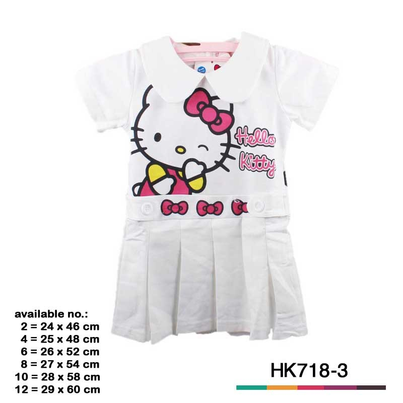 Jual Baju Anak Hello Kitty 6423 Hk718 3 Alexashop