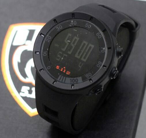 jam tangan 511 tactical beast digital hitam black sopty