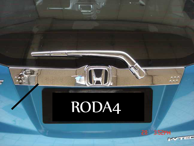 Trunk Lid / List Bagasi Belakang New / All New Jazz Full Chrome