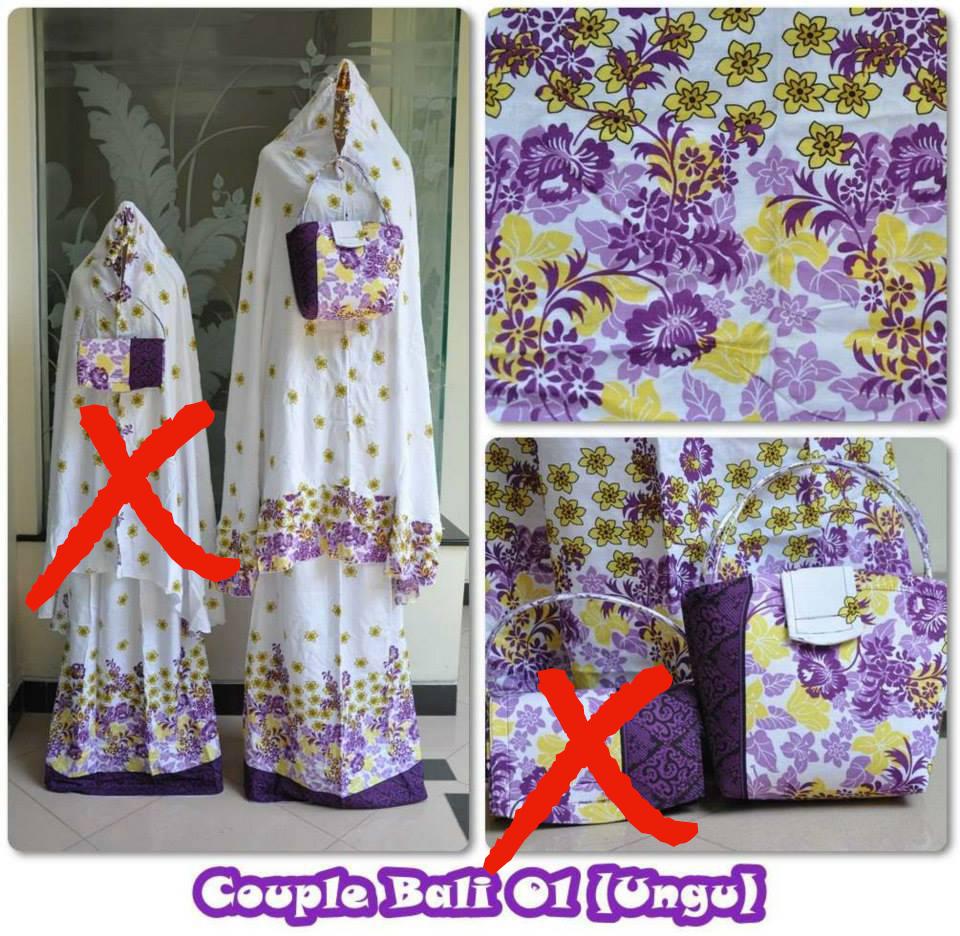 harga Mukena Rayon Bali 1 Ungu (Dewasa) Tokopedia.com