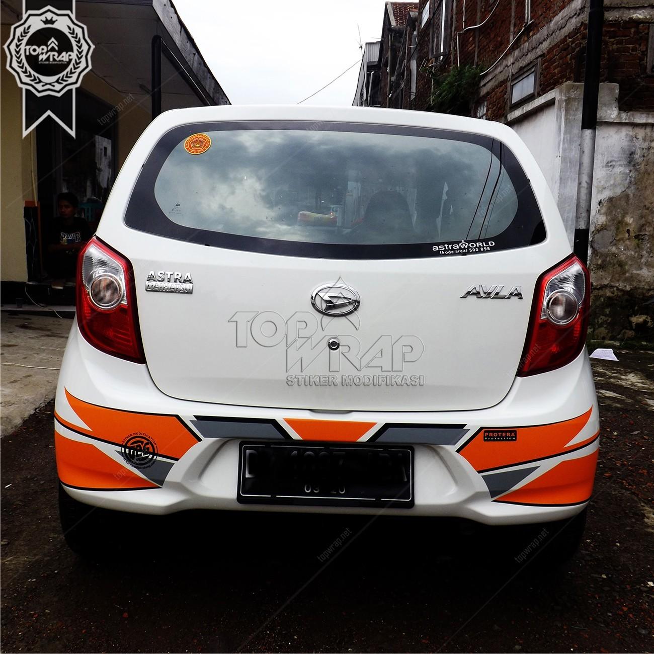 Jual Cutting Sticker Mobil Agya - Ayla di lapak Modis ...