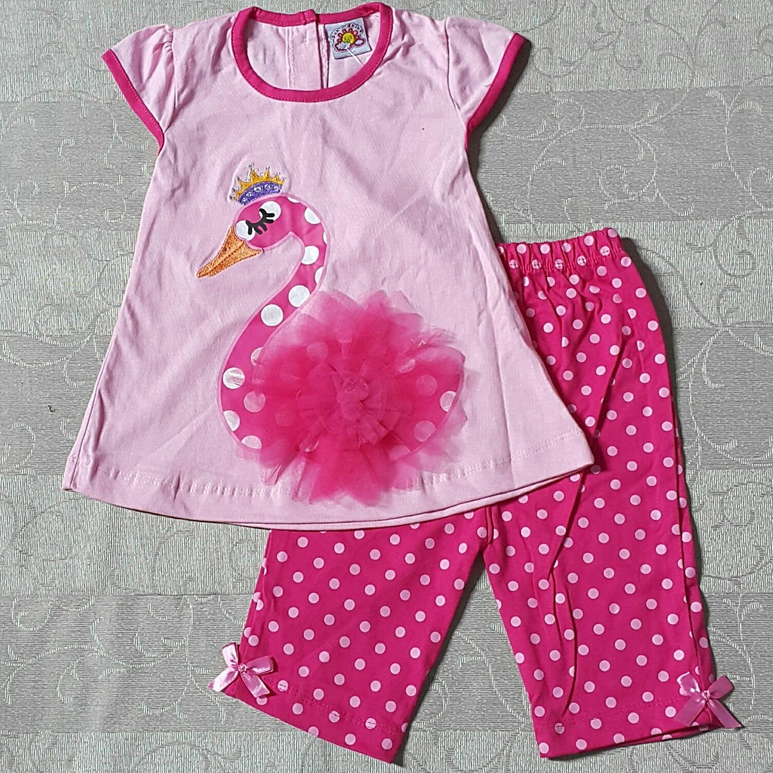 Jual baju setelan anak bayi baby perempuan kaos branded murah ... 4bb8457dcf