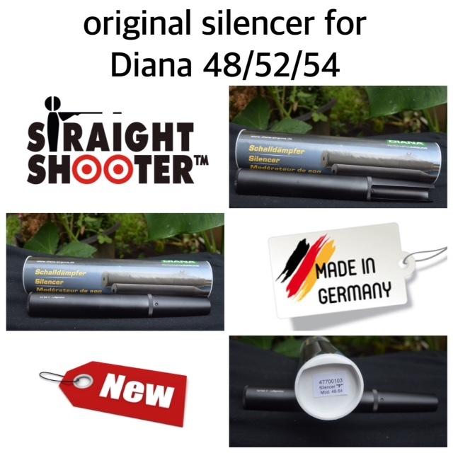 harga Peredam senapan angin/silencer original Diana 48, 52 dan 54 Tokopedia.com