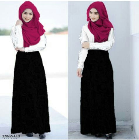 Hijab helena 3in1 Spandek fit L