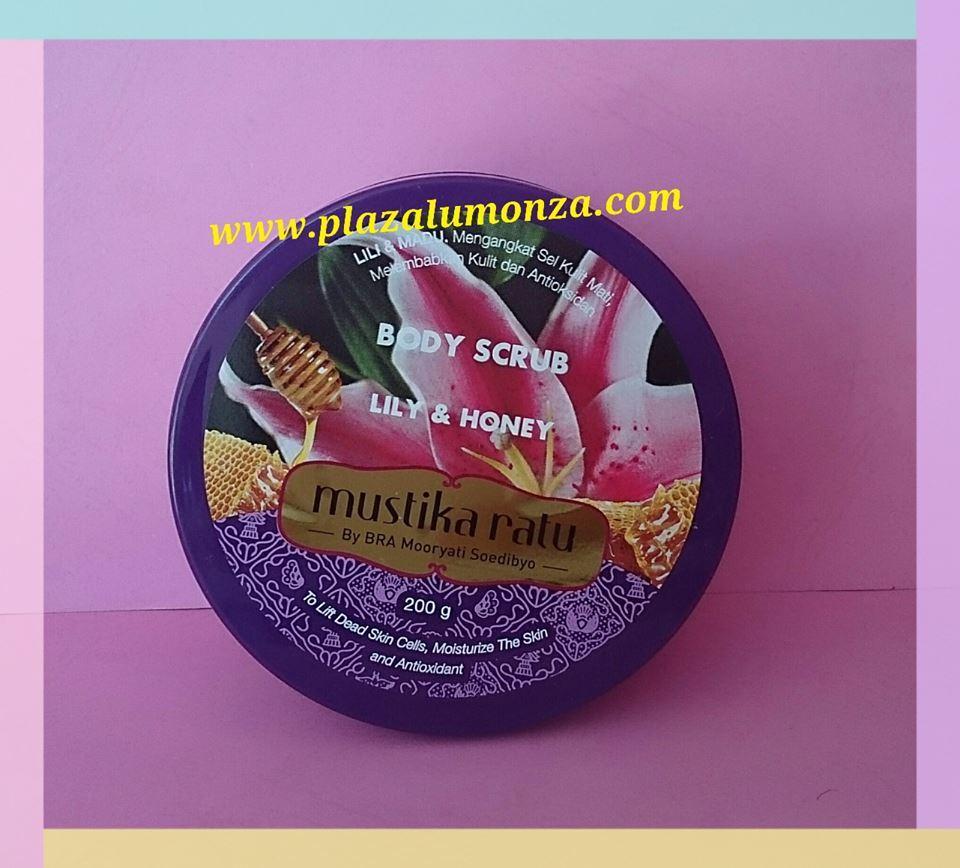 Mustika Ratu Lily And Honey Body Scrub 200 Gr Daftar Update Harga 200gr Obral Zaitun Co Source Jual