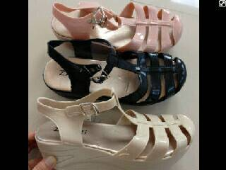 harga Sepatu Sandal Jelly Kenip Juju Wedges 5cm Import SP562 Tokopedia.com