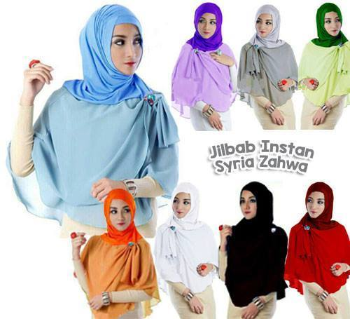 Jilbab / Hijab / Kerudung / Khimar SYRIA ZAHWA