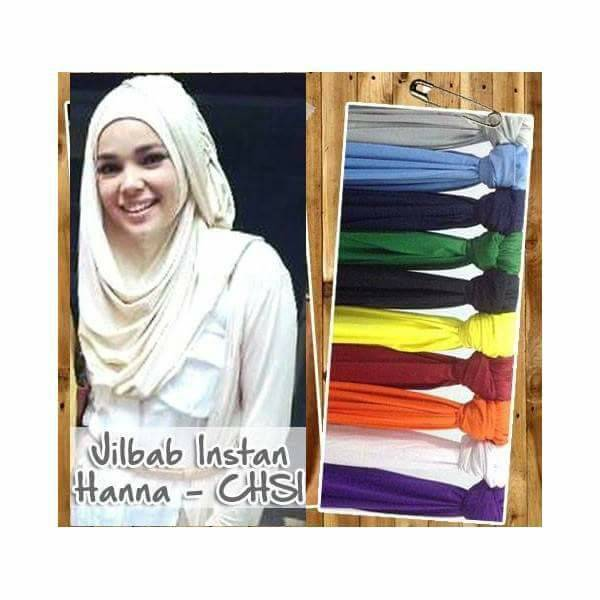 Jilbab / Hijab / Kerudung / Khimar Hanna