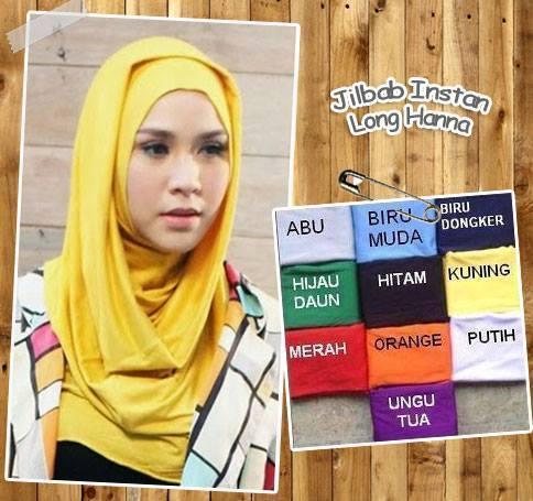 Jilbab / Hijab / Kerudung / Khimar Long Hanna