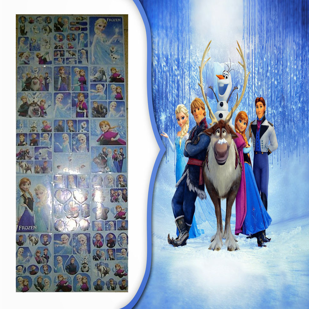 Jual Sticker Stickers Stiker Karakter Frozen Elsa Anna Olaf Doll Dolls Toy Fantasy Land Tokopedia