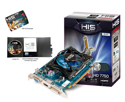 VGA HIS R7 250 ICOOLER 2GB DDR3 BOOST CLOCK