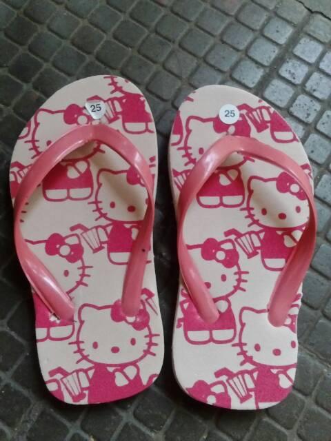 Harga Sandal Jepit Japit Anak Filplop Doraemon Hello Kitty ...
