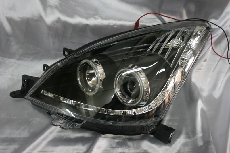 Jual Head Lamp Nissan Livina 07 12 Projector Angel Eyes