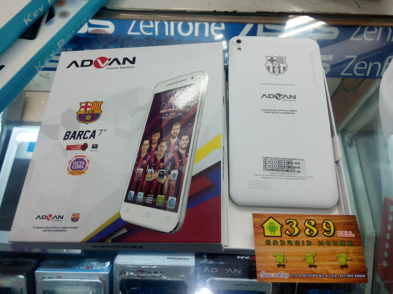 Spesifiksi Hp Advan Tab 7 T1X Pro