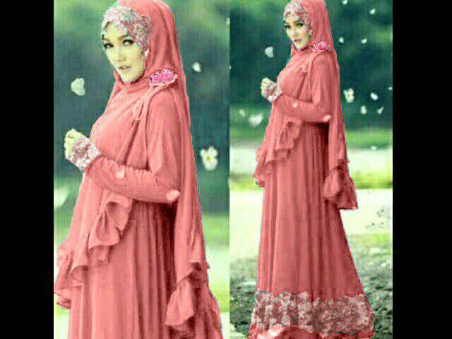 hijab flower jersey