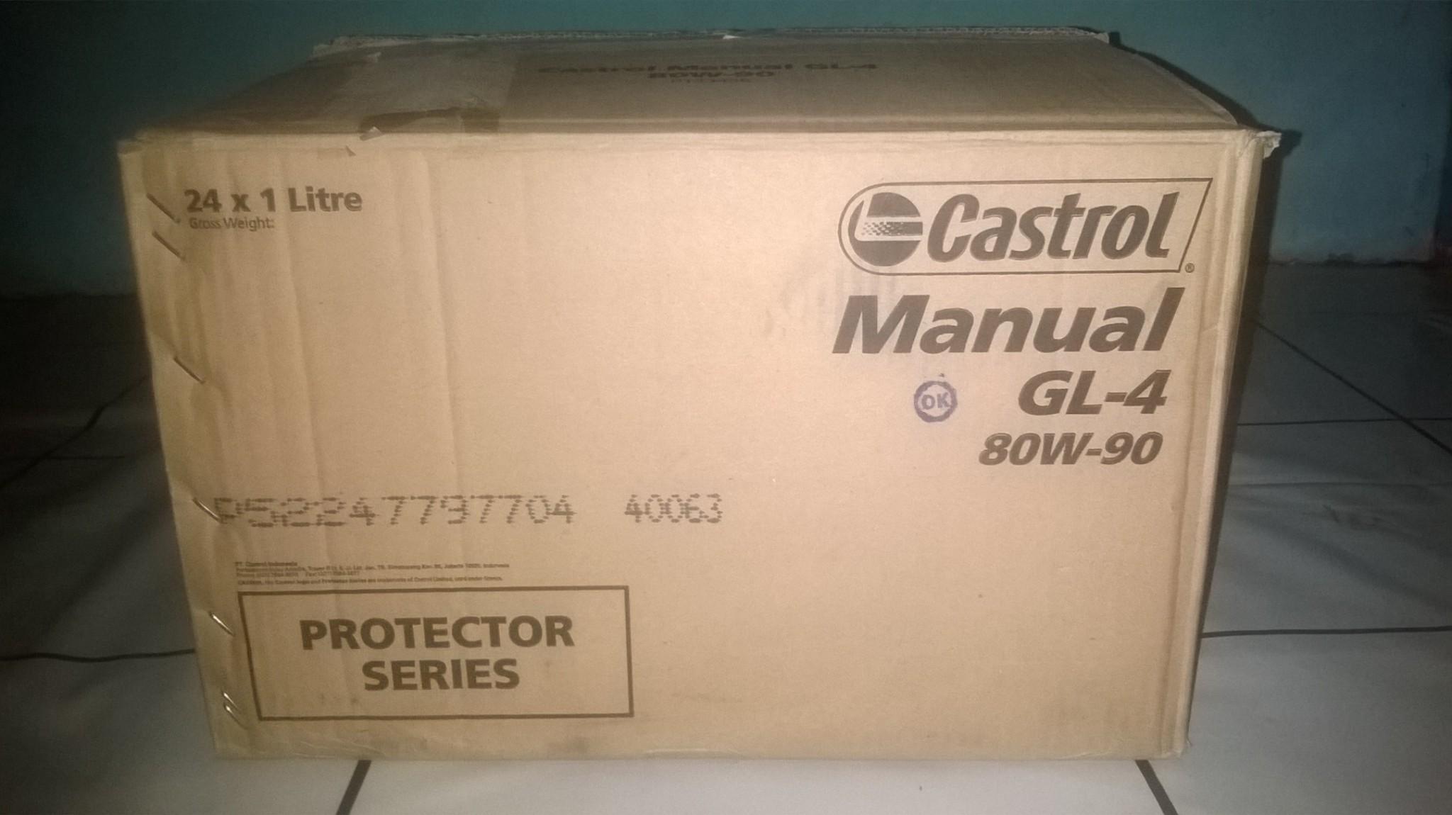 Castrol Manual EP transmissieolie 80W-90, 500ml kopen ...
