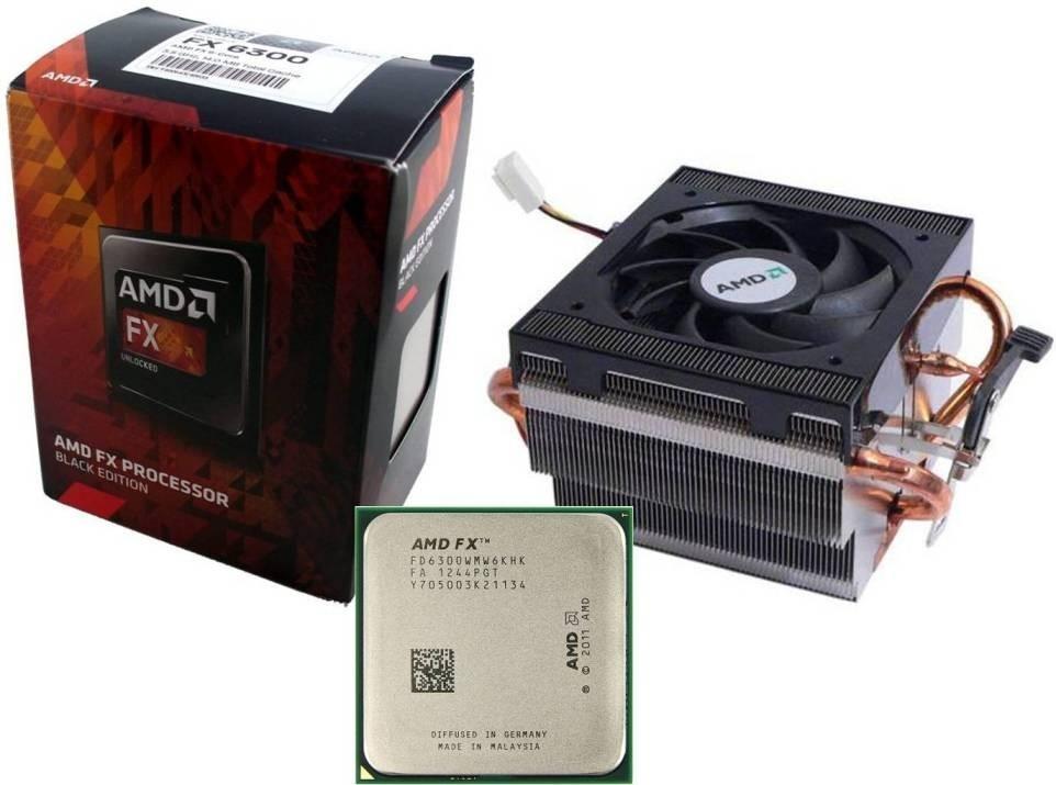 Jual Procesador Amd Fx 6300 Black Edition Vishera 35 Ghz