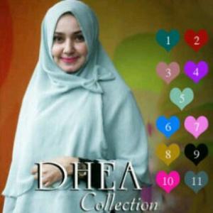 Bergo /Kerudung / Hijab/Jilbab Syar'i Khimar Dhea Pita Non Pet
