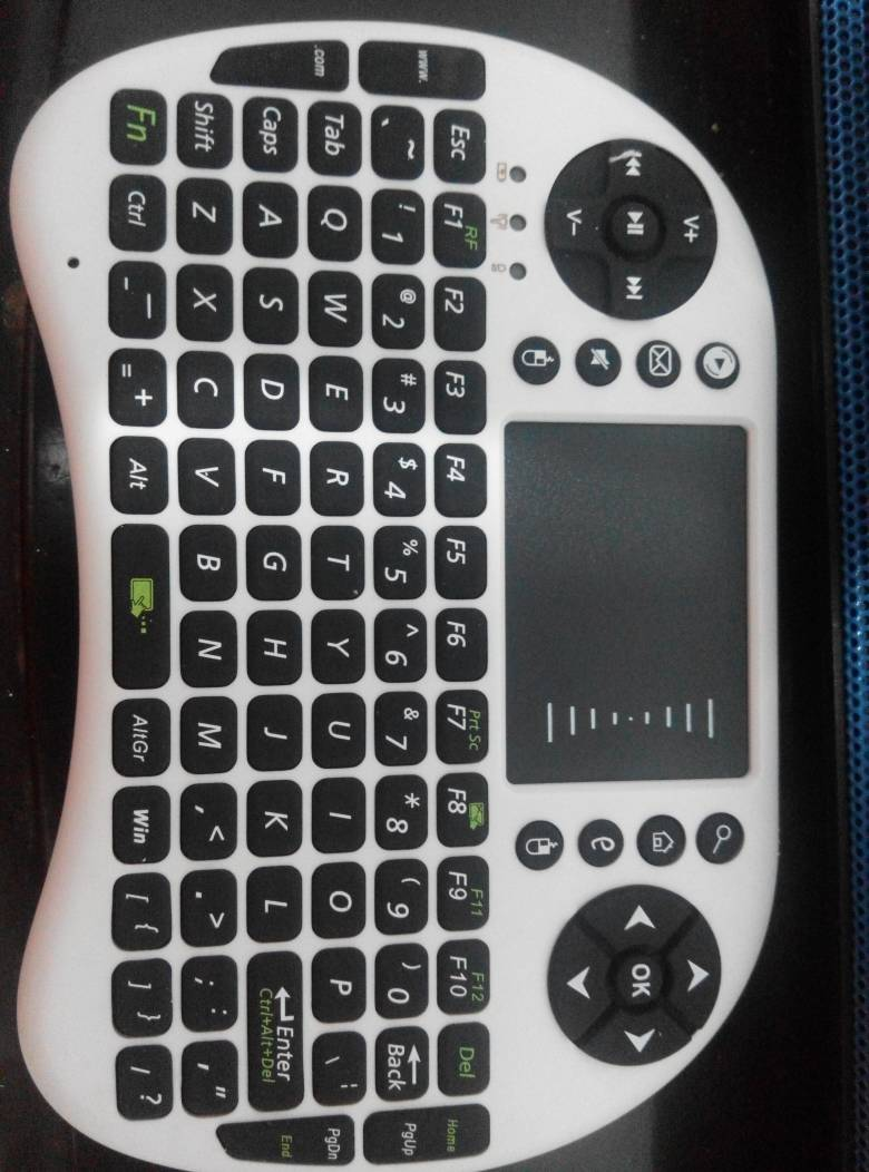 Jual Mini Wireless Keyboard Multimedia Touch