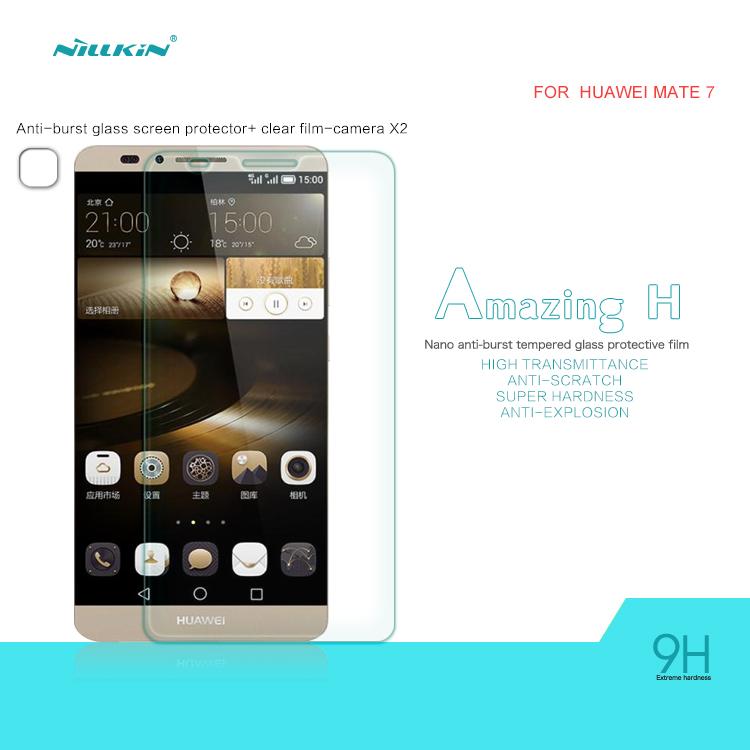 harga NILLKIN Anti Explosion (H) Tempered Glass Huawei Ascend Mate 7 Tokopedia.com