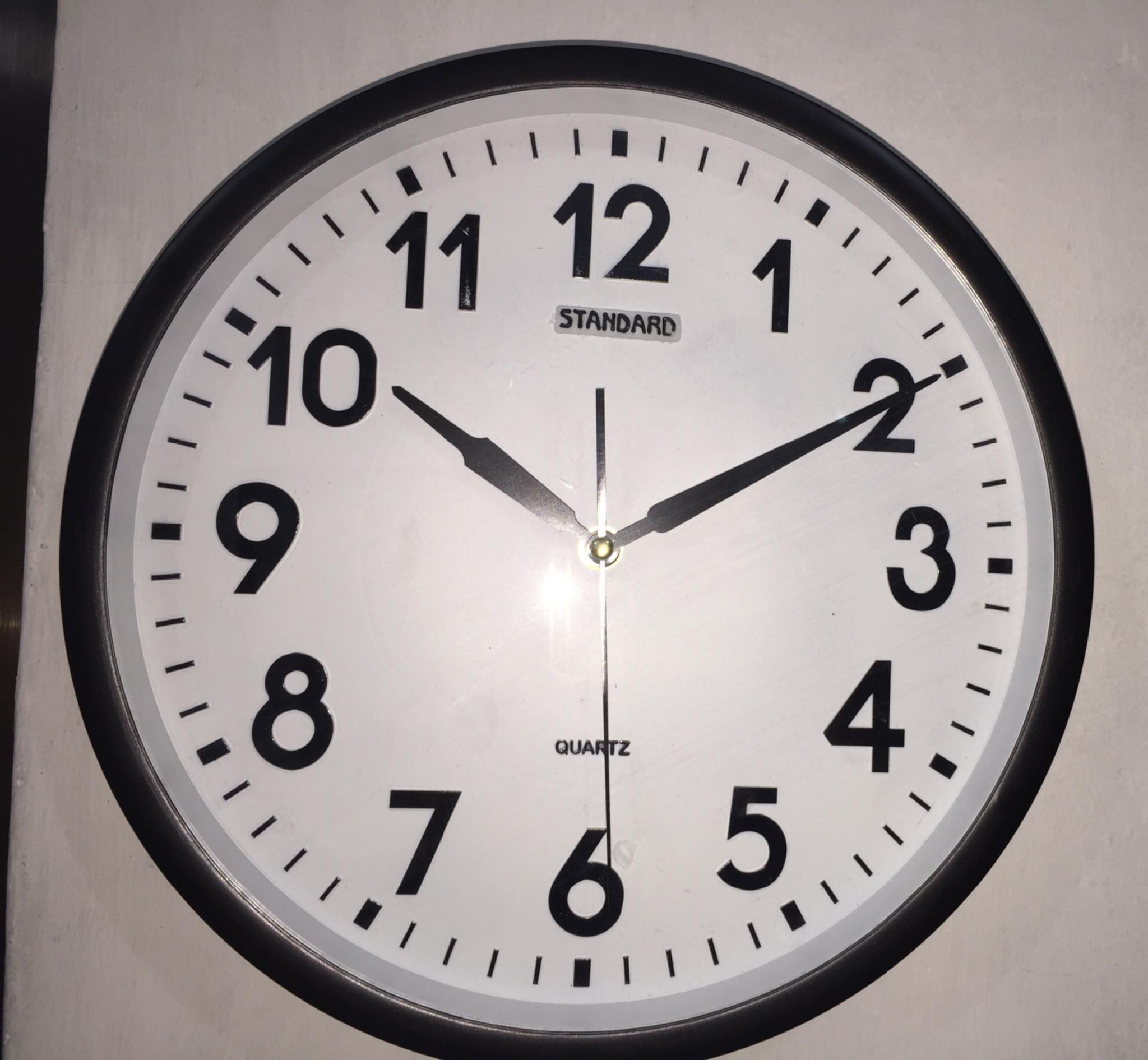 Standard Jam Dinding 282 Daftar Update Harga Terbaru Dan Rhythm Global Timepiece I1204r04 Tangan Wanita Putih Jual Murah Sale Limited Stock Diameter 30cm Vonstore Tokopedia