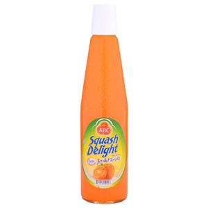Syrup ABC Squash Delight Orange 580ml