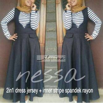 supplier dres hijab : ilquina dres by. nessa