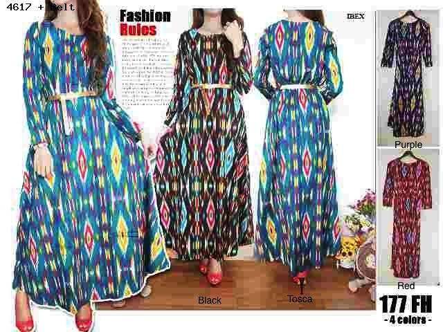Jual Rosir Baju Batik Wanita Tanah Abang Murah Gamis Shiny