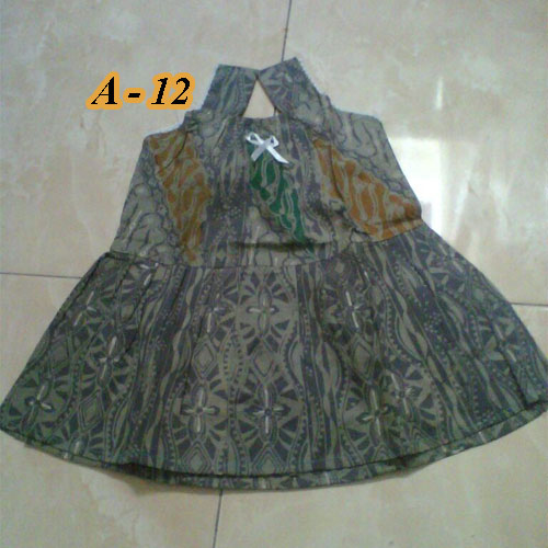 Dress Batik Balita Cewek