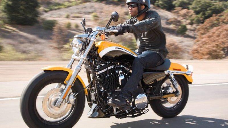 Harley Davidson sportster 1200 custom xl1200c #10