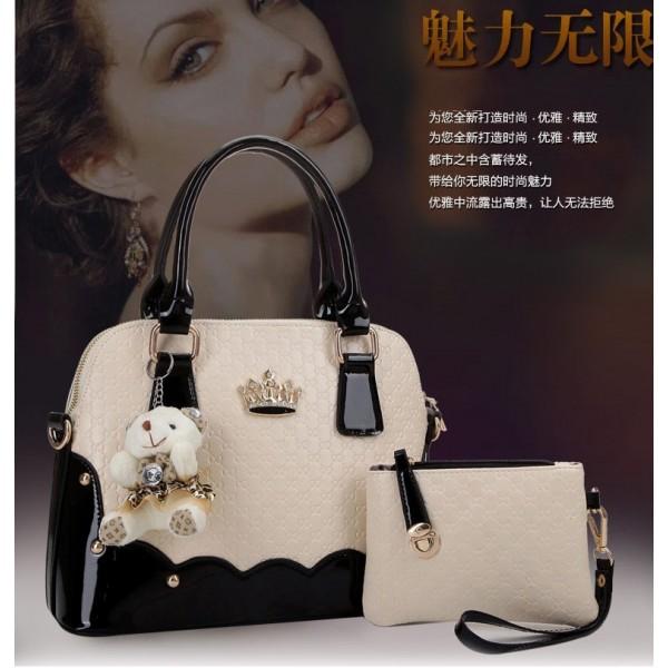 Jual Tas Fashion Import 2in1 Teddy bear (VS1372New) - Tas Import V-Store dc6af6ca8c
