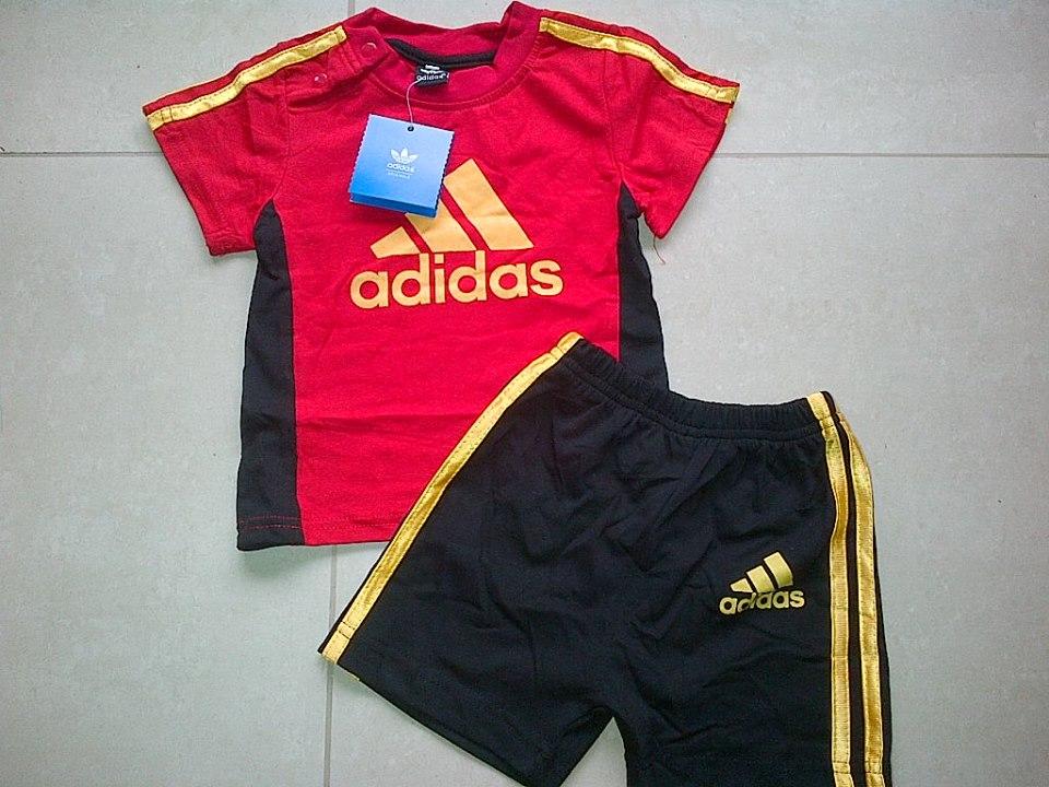 Jual Baju Anak Bs Red Adidas Set Carissa Babyshop