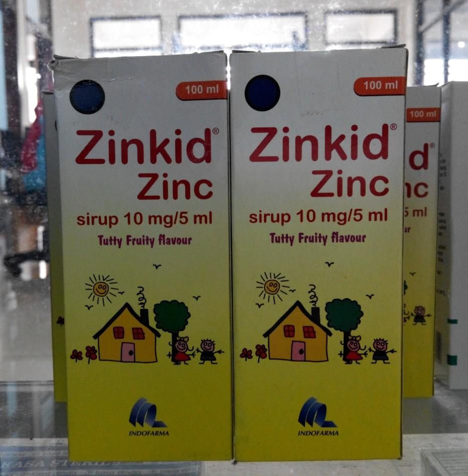 Jual Zinkid Zinc Obat Diare Bayi Idun S Corner Tokopedia