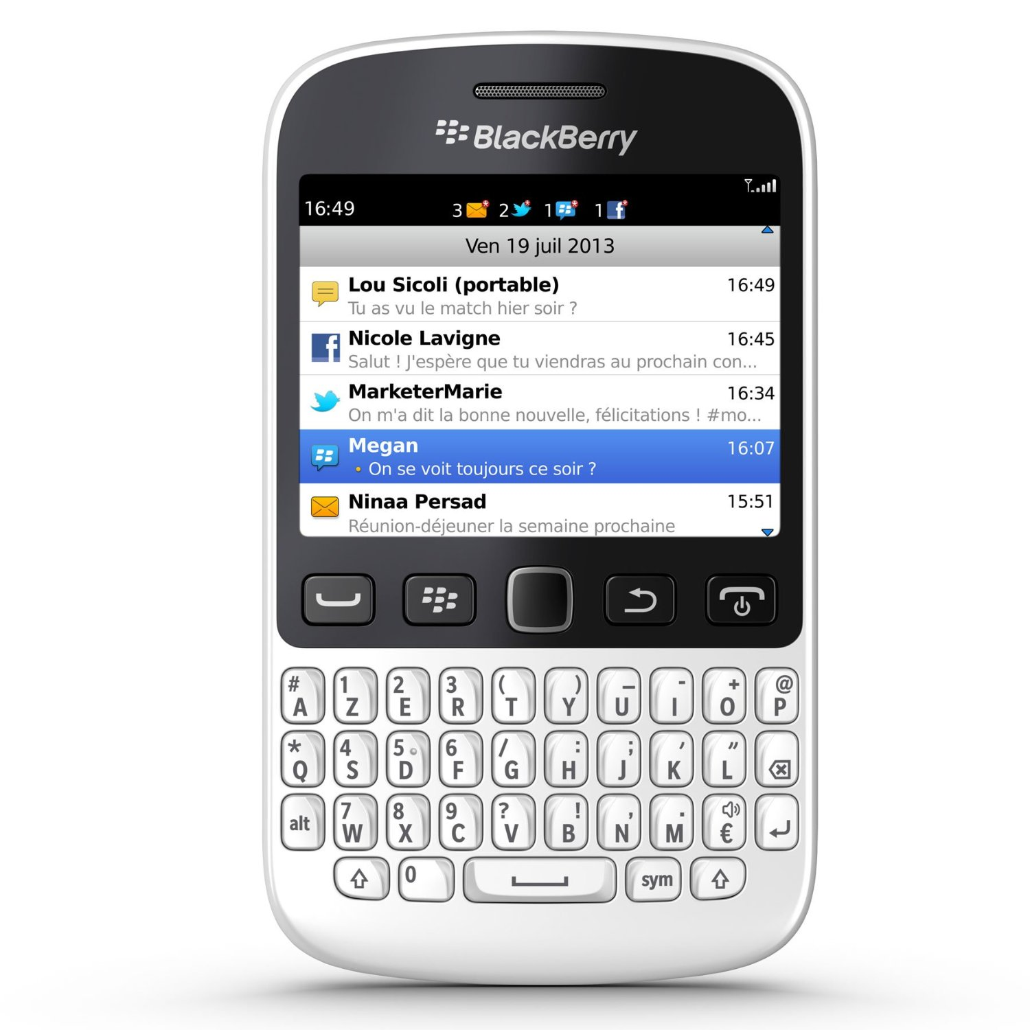 BlackBerry 9720 Black