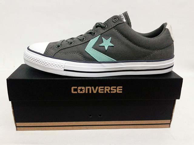 Jual Sepatu Converse Star Player OX 142181C Grey White ... b87afdb35e